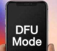enter dfu mode to remove mdm