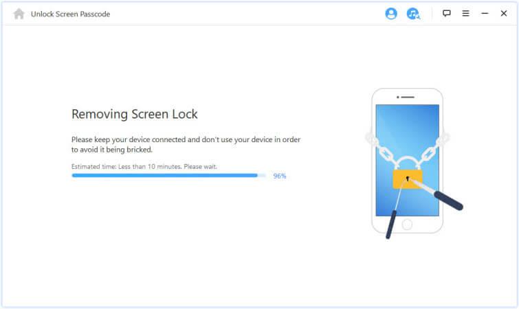 remove screen lock
