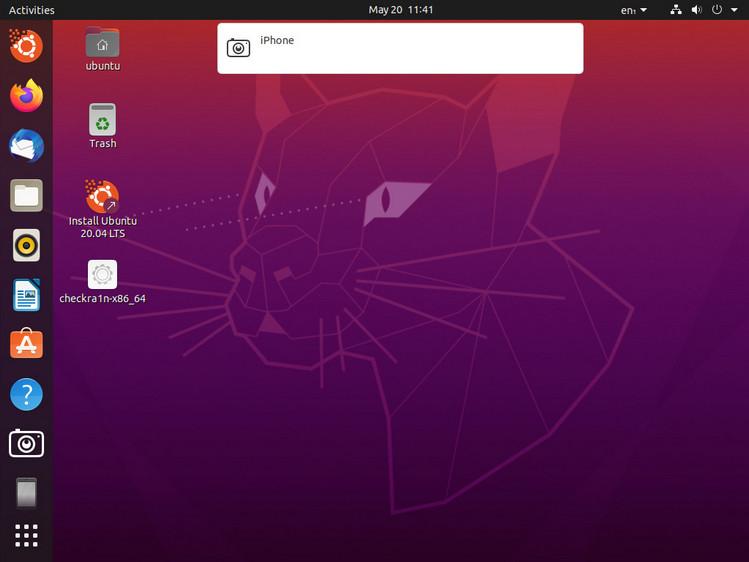 iOS-Gerät mit Ubuntu verbinden