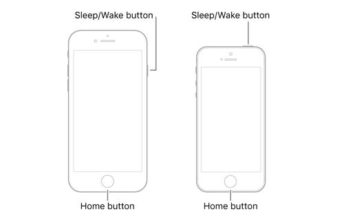 iphone 6 oder ältere Modelle Neustart erzwingen