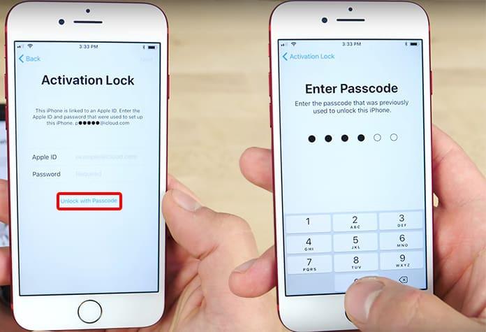 iCloud-Aktivierungssperre mit dem Bildschirmcode entfernen