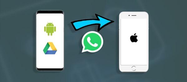 whatsapp-backup von google drive auf iphone wiederherstellen