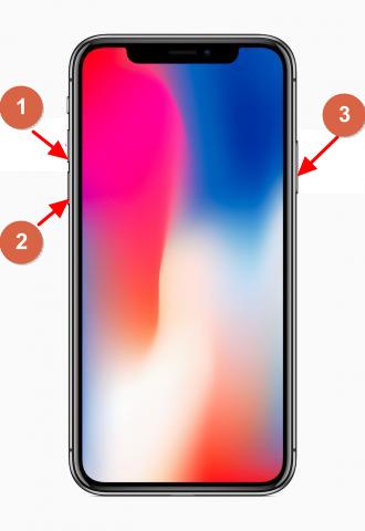 iPhone-x Neustart erzwingen