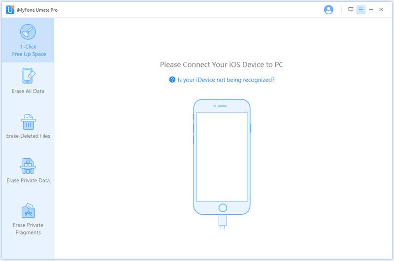 Schließen Sie das iPhone an