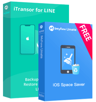 buy iTransor for LINE get Umate free