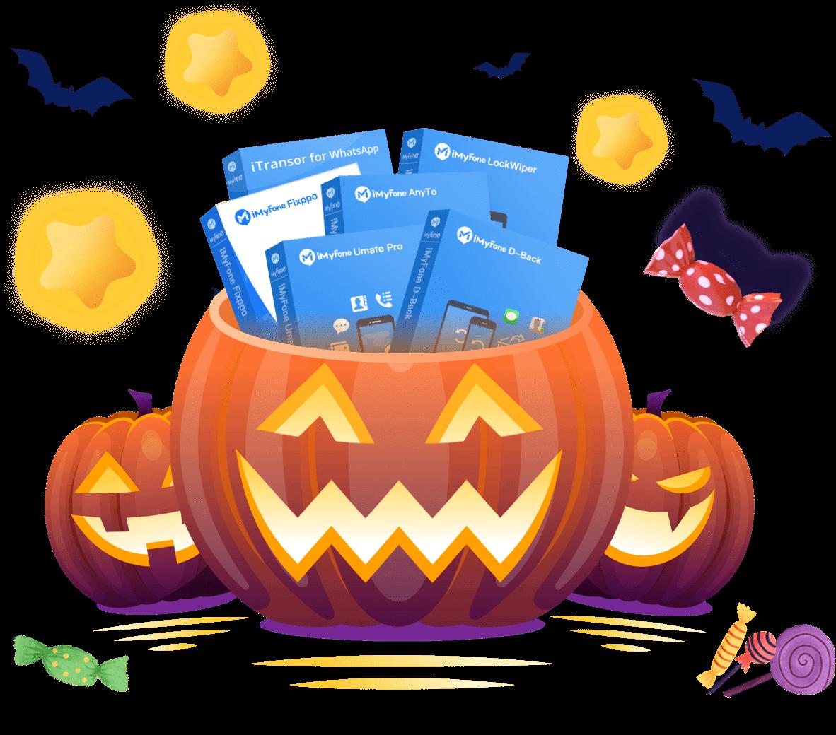 iMyFone Halloween Bundle Treat