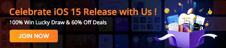 iOS 15 release celebration