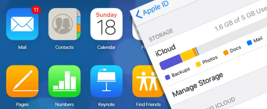 check apple id and icloud account