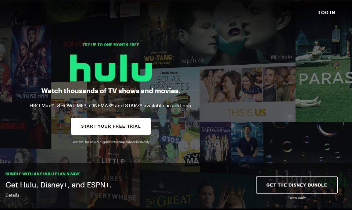 restrictions of hulu
