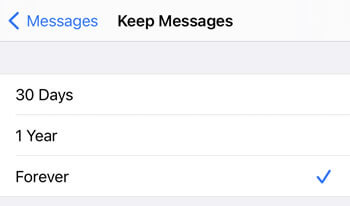 clear old messages to clear other storage