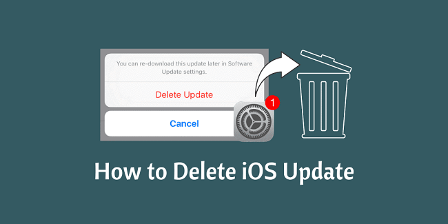 delete iOS update