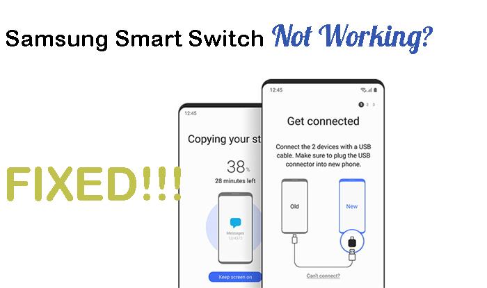 samsung switch not working