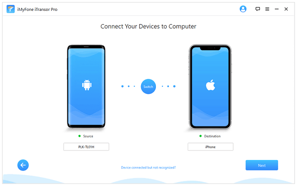 transfer samsung to iphone guide