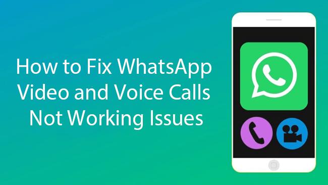 how to fix WhatsApp calls not working
