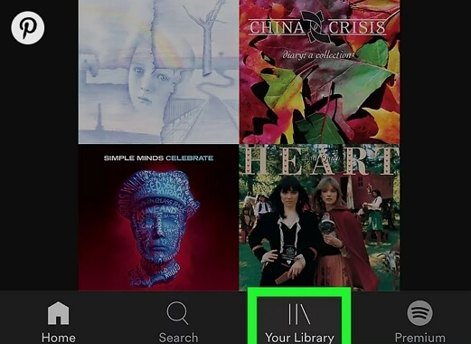 log out Spotify on iPhone