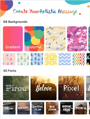 select and download background