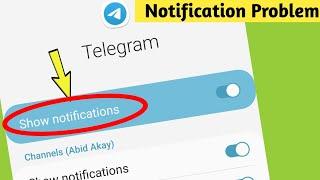Telegram Notifications not working