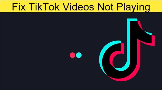 TikTok videos not loading or playing