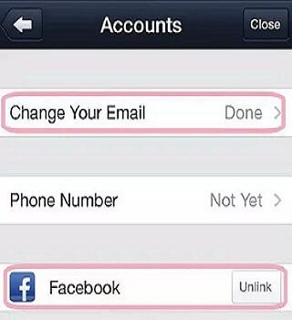line app account creation