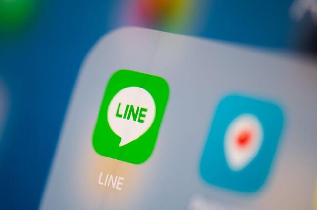 line app data