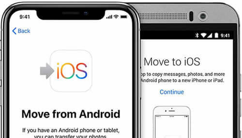 move to ios android to iphone