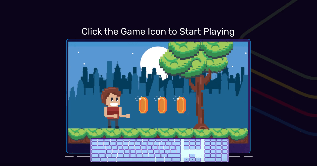 Open the Among Us app to play