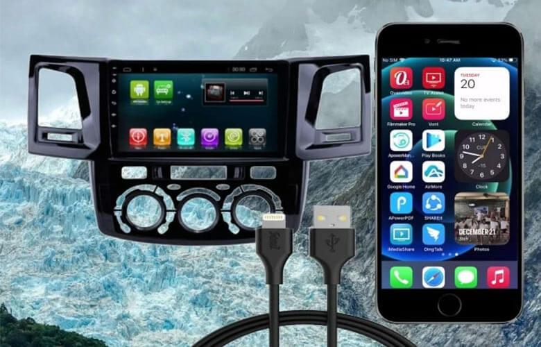 connect iphone and car stereo