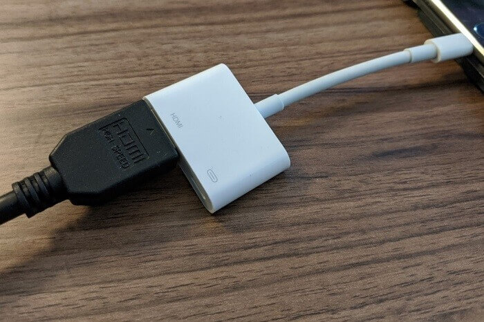 connecting using hdmi cable