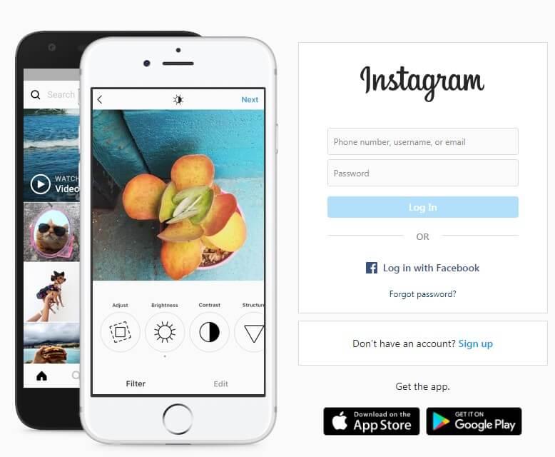 Instagram Official Website
