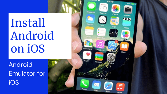 install android on ios