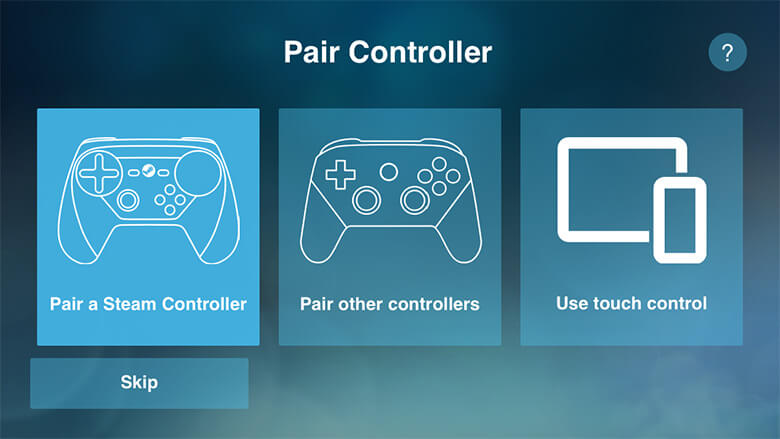 pair controllers