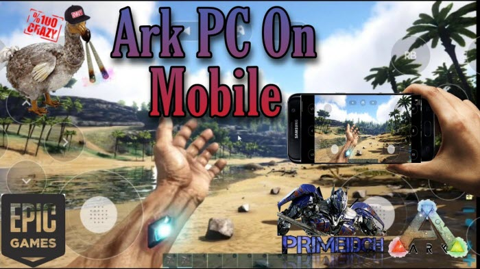 play ark survival evolved mobile on computer