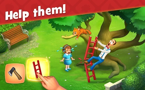 play the gardenscapes game with memu play