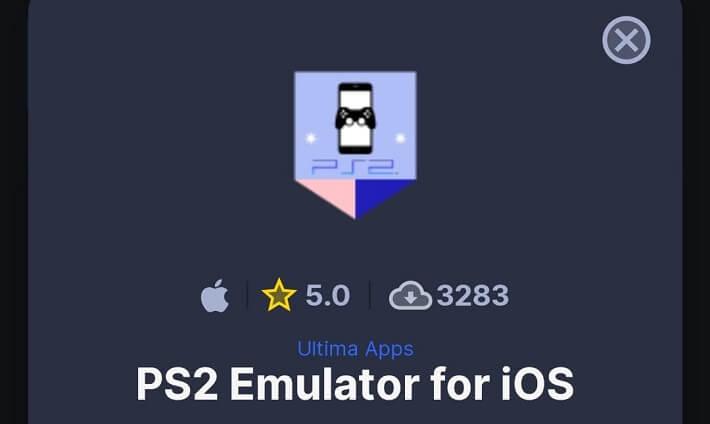 ps2 emulator ios