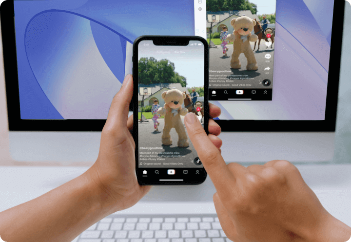 screen mirror phone to pc