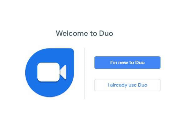 try duo for web