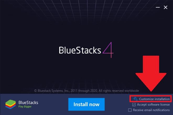 visit bluestacks