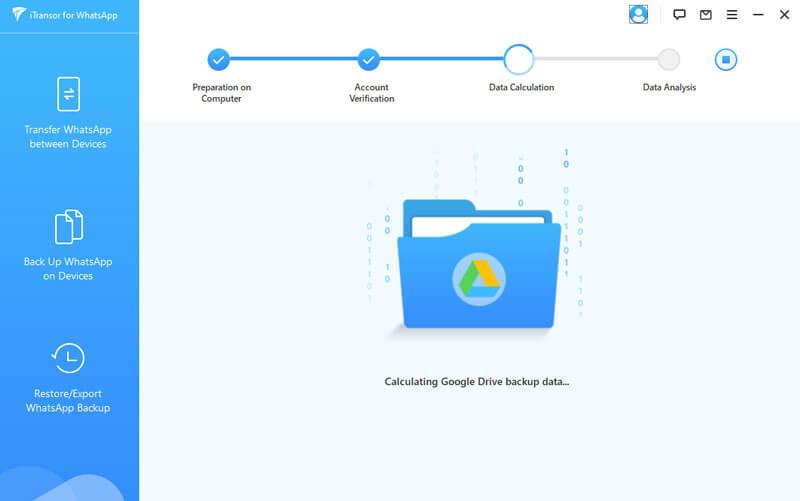 calculating google backup