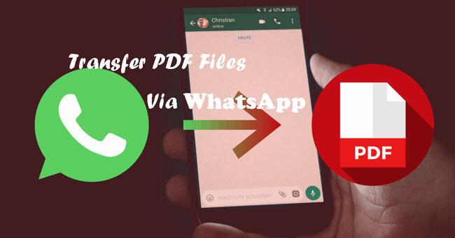 transfer pdf via whatsapp