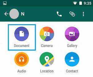 whatsapp pdf file from pdf android