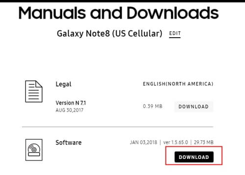 device download