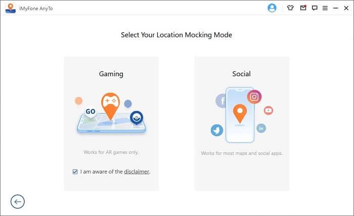 select social mode