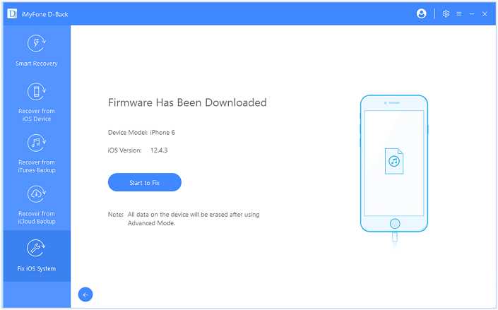 firmware downloaded advanced