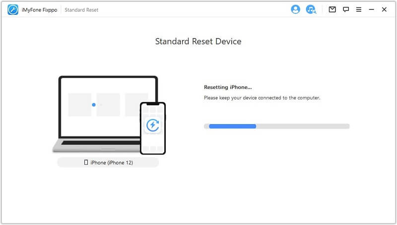 resetting device