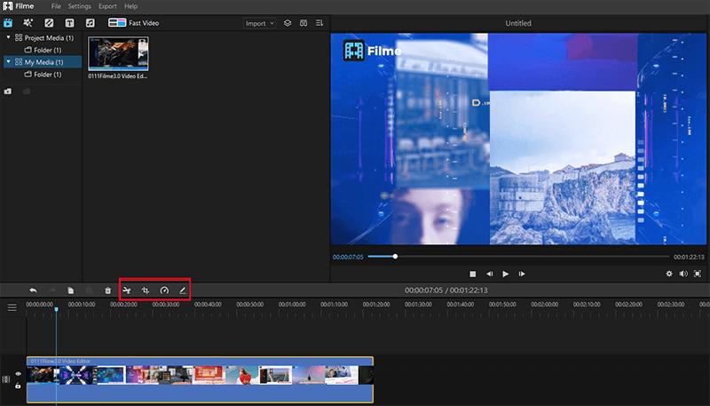 edit videos in filme