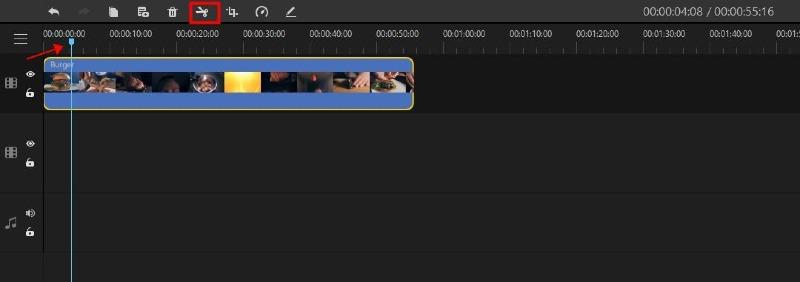 Filme adjust playhead