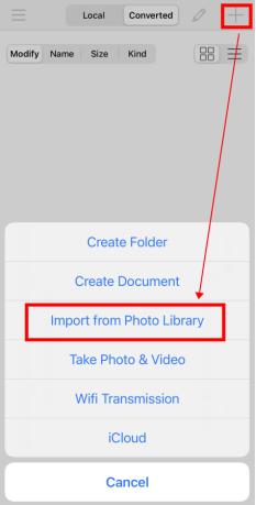 import media on iconv
