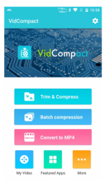 vidcompact video editor