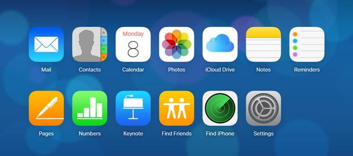 Download iCloud Backup to PC using iCloud .com