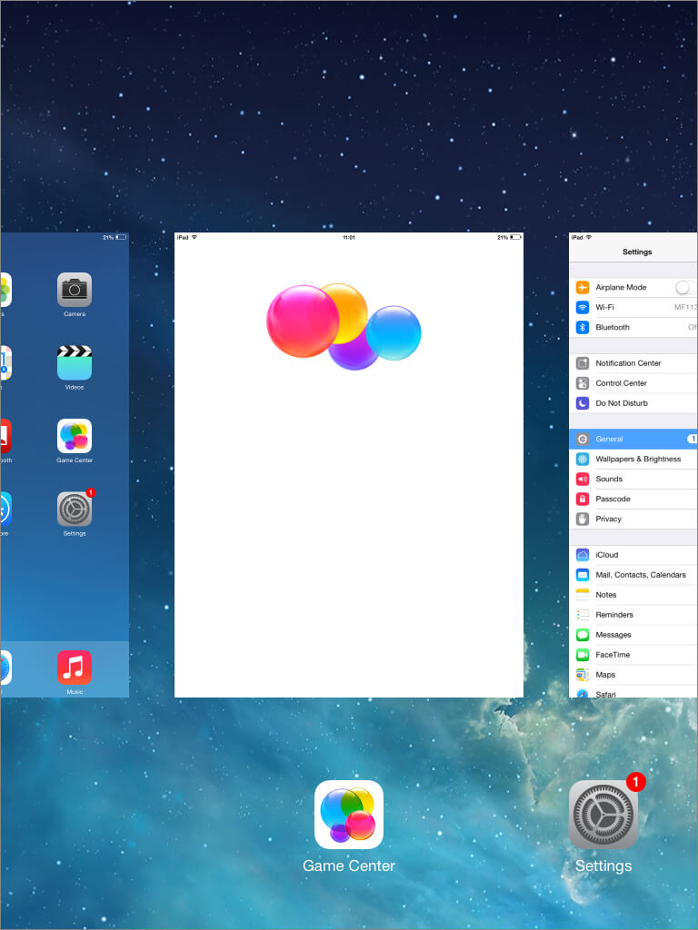 Close iphone apps